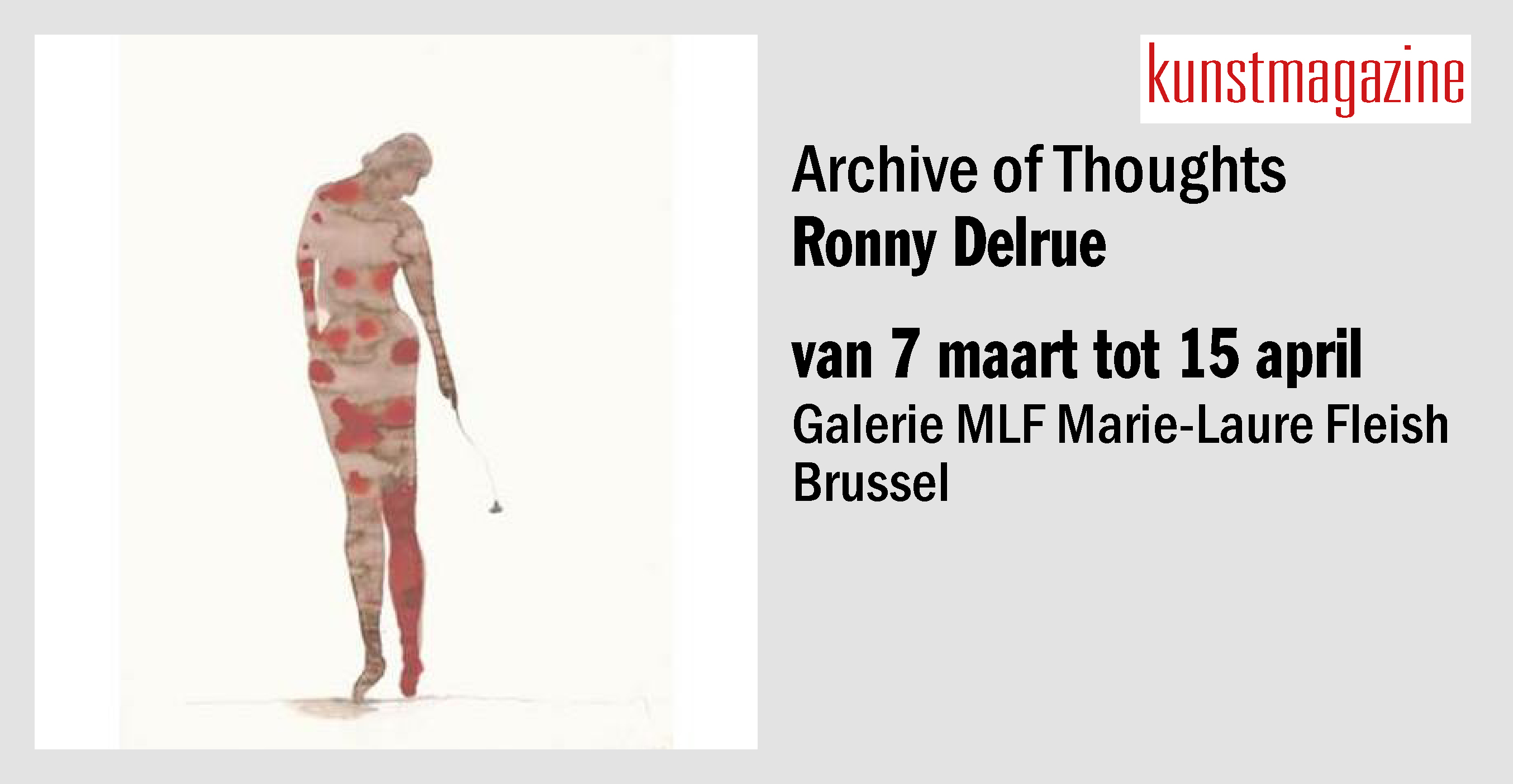 RONNY DELRUE Archive of Thoughts