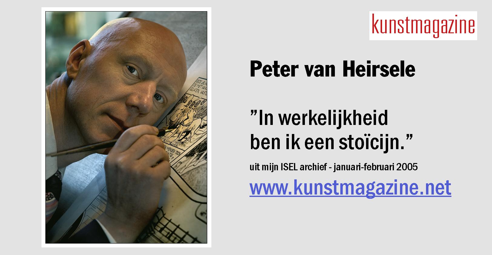 PETER VAN HEIRSELE