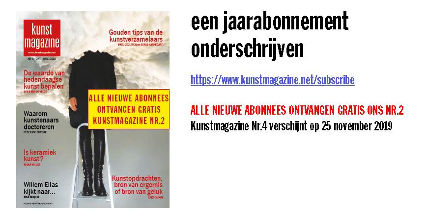 <h2><a href='https://www.kunstmagazine.net/news/article/153'>.</a></h2>Kunstmagazine Nr.4 - 25 11 2019